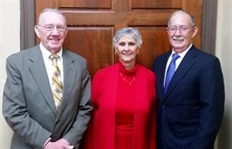 Bill, Gail and Ernie