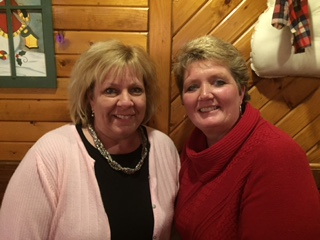 Beth Janssen and Lori (Verhagen) Evers