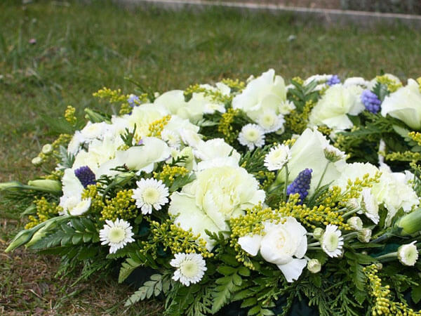 Wreath for Obituaries