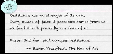 The Resistance Steven Pressfield
