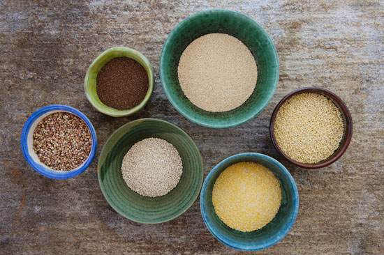 Image name: Grains Great Gifts for The Organic Gourmet Zoe Helene CLTV 550