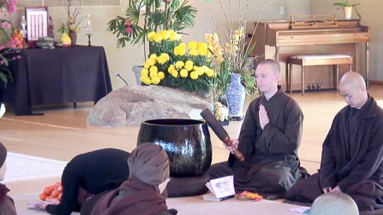 Meditation at a Green Monastery