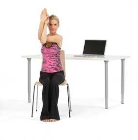 10 relaxing chair yoga exercises  conscious living tv