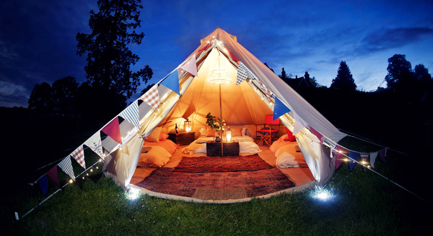 Glamping it Up: Eco-Luxe in the Great Outdoors - Conscious Living TV