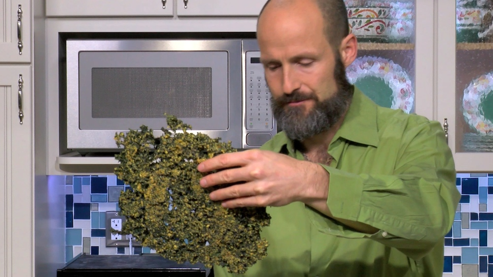 Video: Cheezy Jalapeño Kale Chips, Vegan Man Style