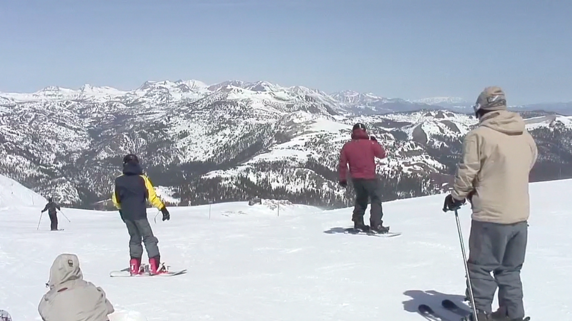 The View From the Top: Mammoth Mountain Resort