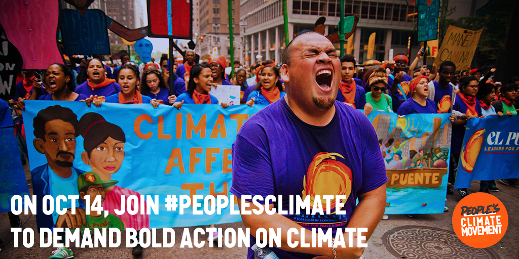 Power to the People's Climate Movement