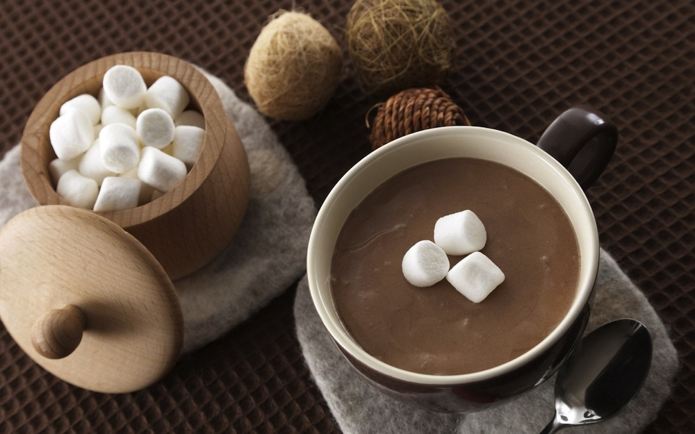Spicy Vegan Mexican Hot Chocolate