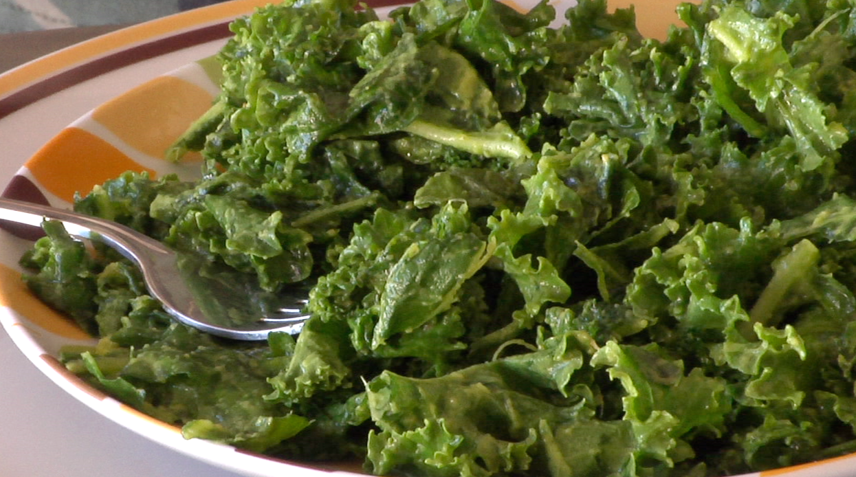 Vegan Man: All Hail the Kale Salad