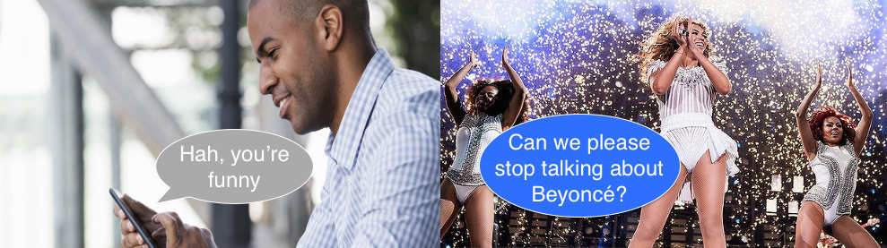 beyoncé, beyonce, gay, text, funny, decoding texts, his messages