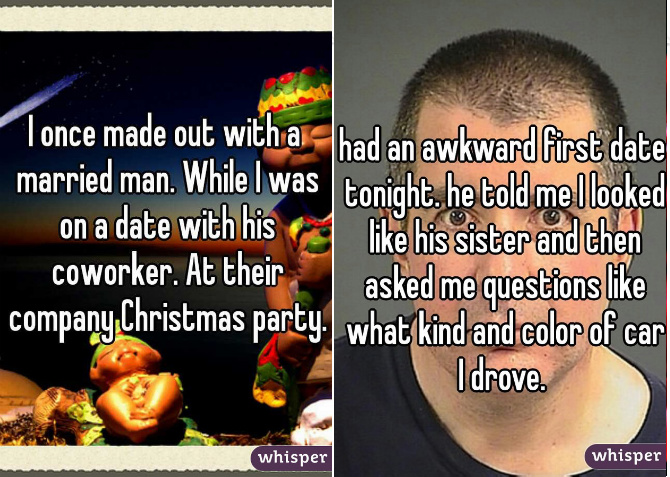16 most astonishing dating confessions on whisper