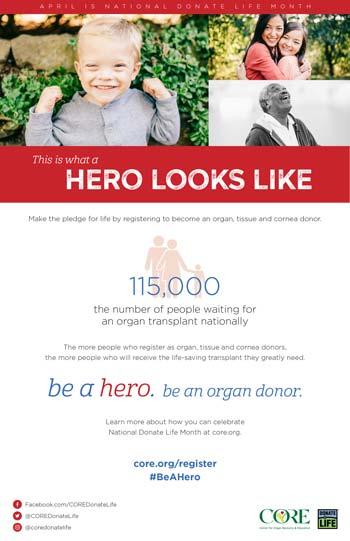 Donate Life Eblast
