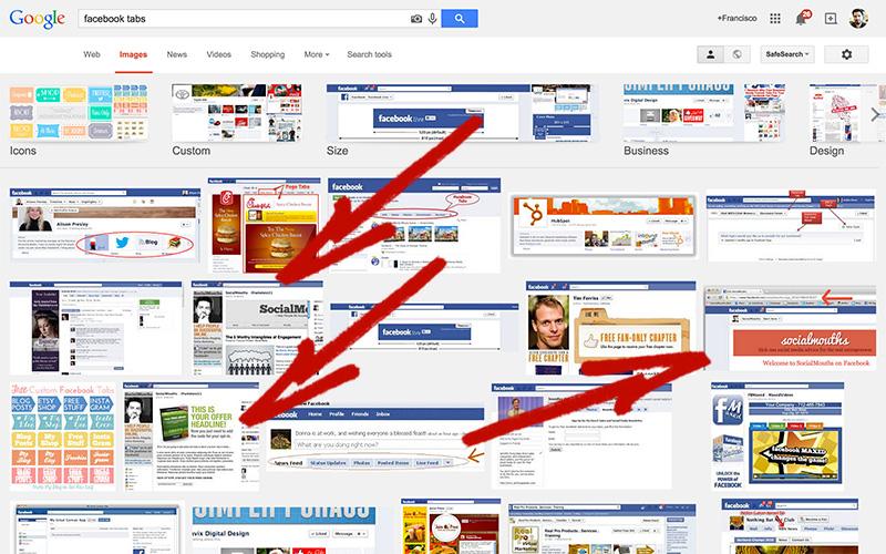 búsqueda en Google Images