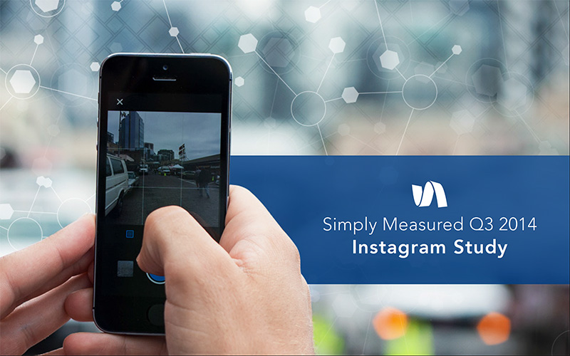 Estudio de Instagram - Simply Measured Q3 2014