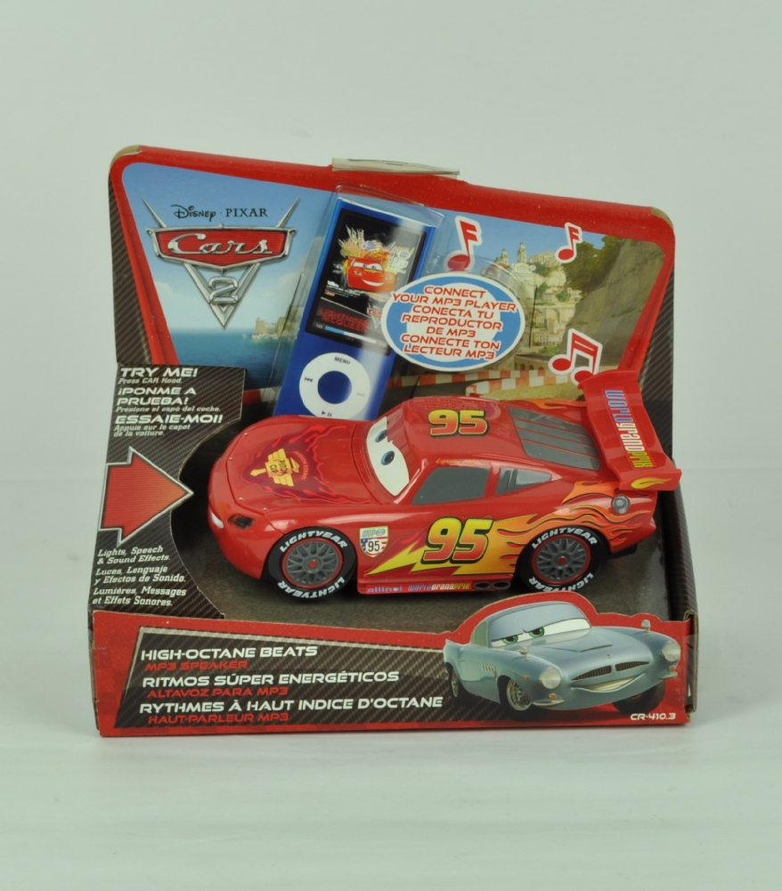 Details about Disney Pixar Cars 2 Lighting McQueen Lights Speech and Sound  Effects Gift Toy