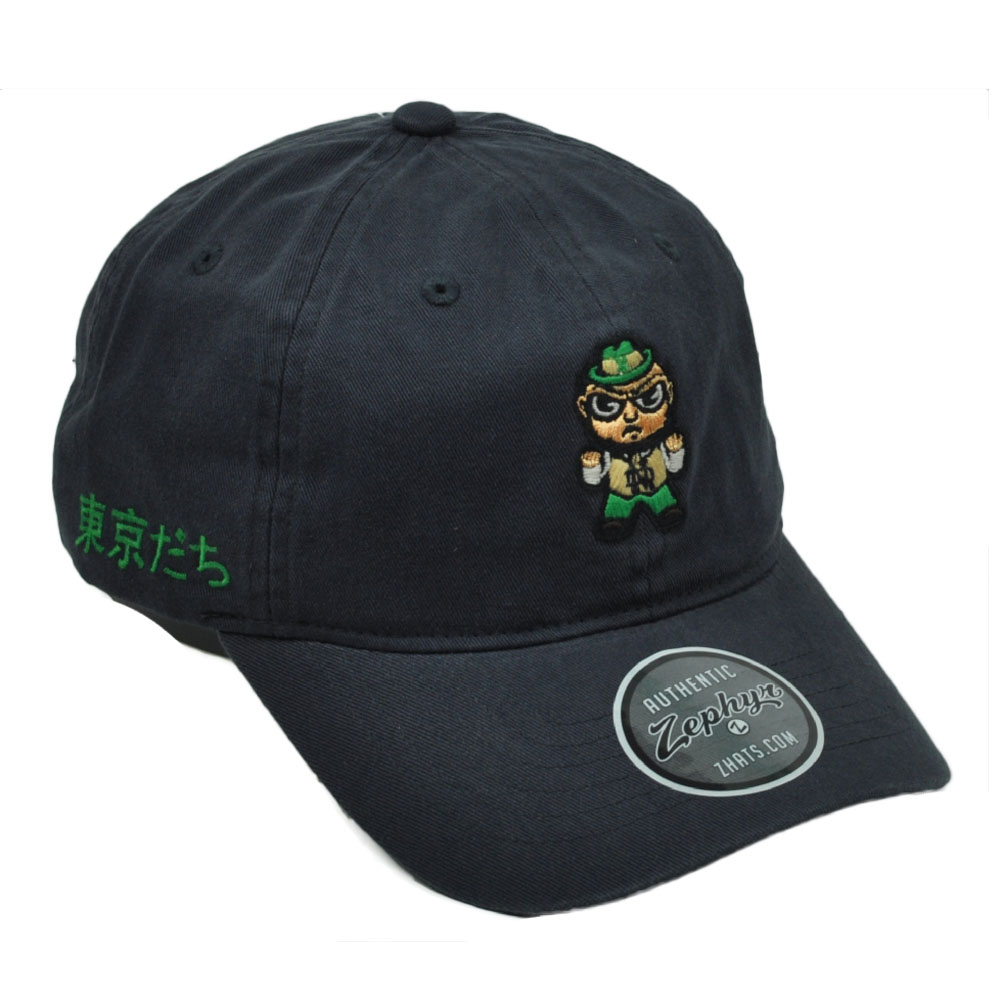 68dc8473533 NCAA Zephyr Notre Dame Fight Irish Navy Tokyodachi Collection Relaxed Hat  Cap