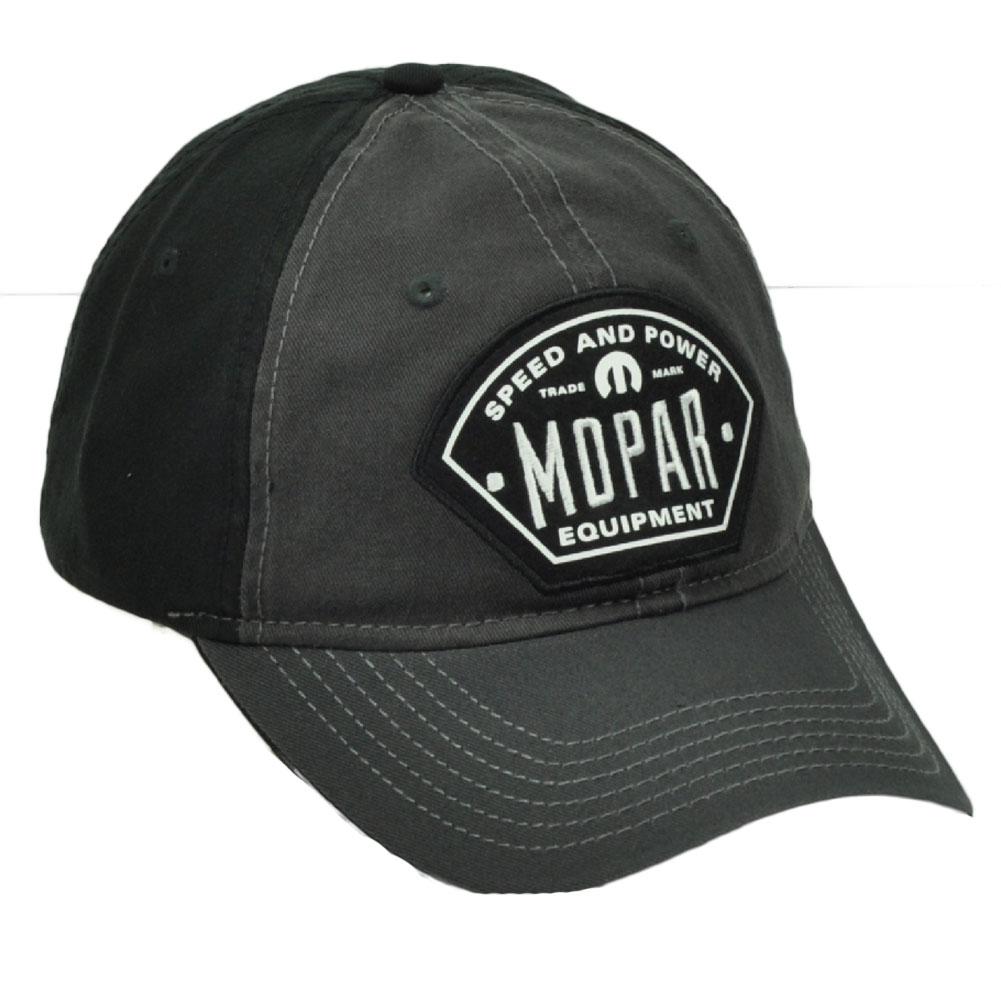 bb0d2b936e9 Mopar Equipment Muscle Car Parts Black Gray Relaxed Fit Hat Cap Snapback  Service