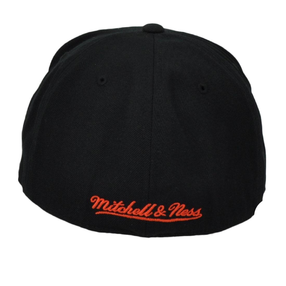 442598439fd NHL Mitchell Ness Philadelphia Flyers Vintage Hockey Hat Cap Black Fitted  Size