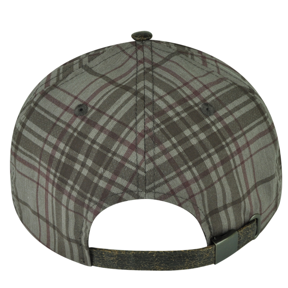 sports shoes 1ac1a a55af ... coupon code for mlb american needle boston red sox brown plaid flat  bill clip buckle hat