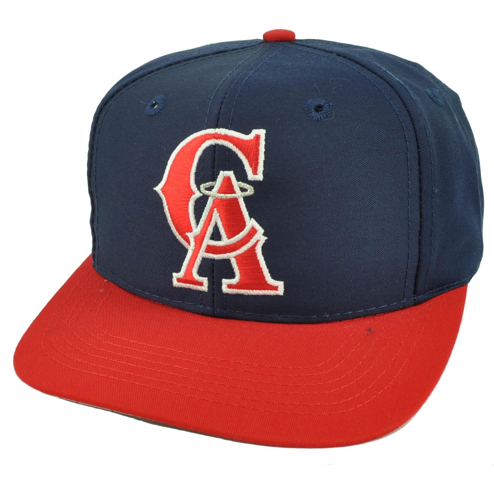 Los Angeles Angels Old School Logo Snapback Flat Bill Baseball Hat Cap Youth aaf5b08efb2