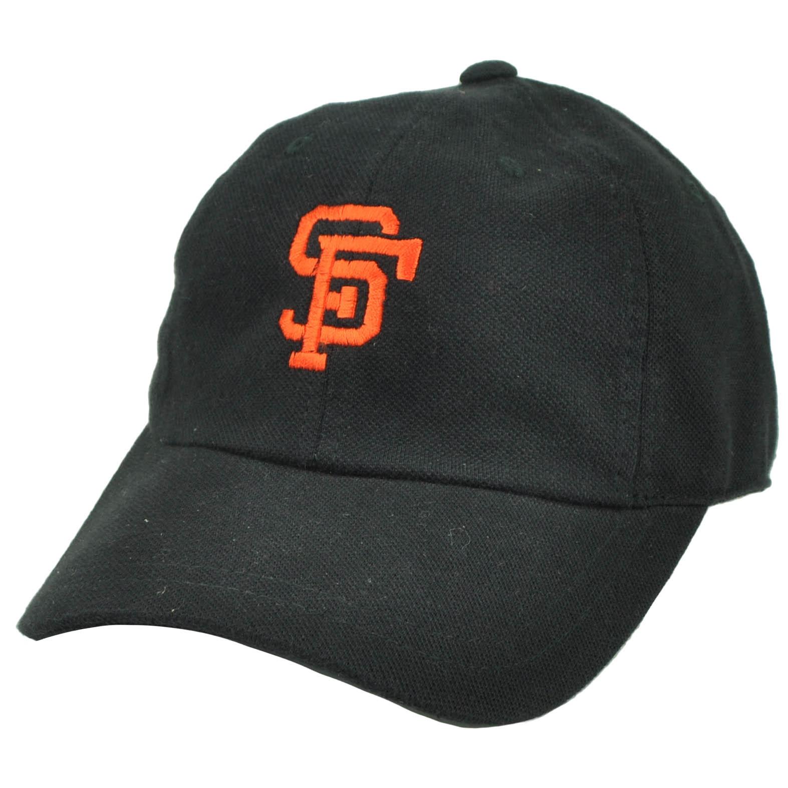 dfe7bfca2b2 San Francisco Giants American Needle Black Relaxed Hat Cap Adjustable  Baseball