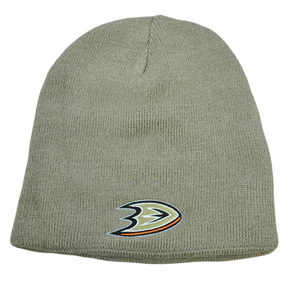 b88231972ab NHL LNH Reversible Zephyr Beanie Knit Nordic Hat Kids Women Anaheim Mighty  Ducks