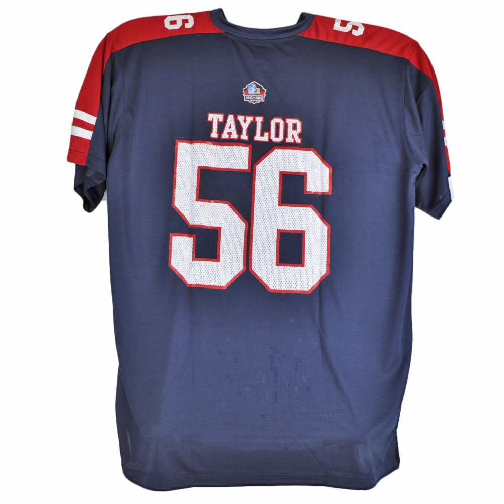hot sale online 964a5 9e54f Details about Majestic Hall of Fame New York Giants Lawrence Taylor 56  Jersey Big Tall Blue