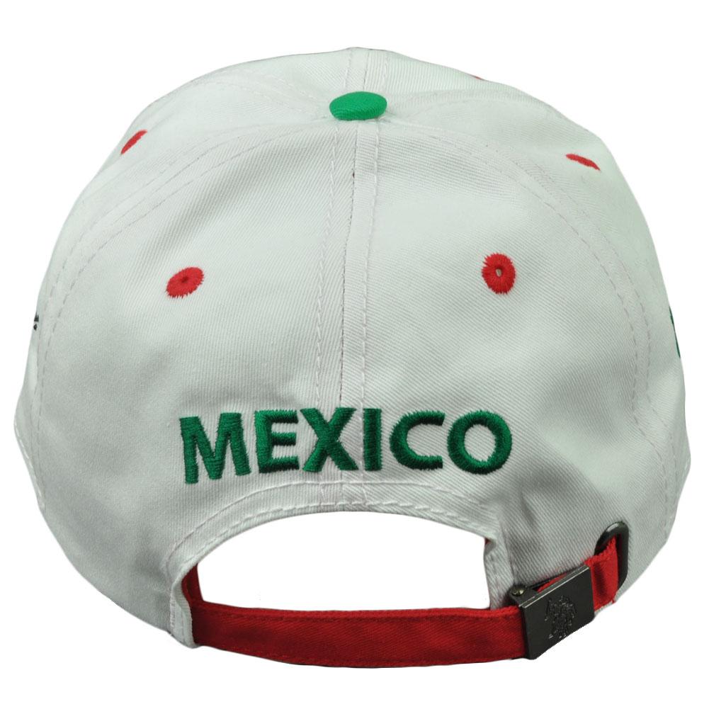 a68a6d284 Us Polo Association Assn Tonal Horse Mexico Flag Clip Buckle Relaxed Hat Cap
