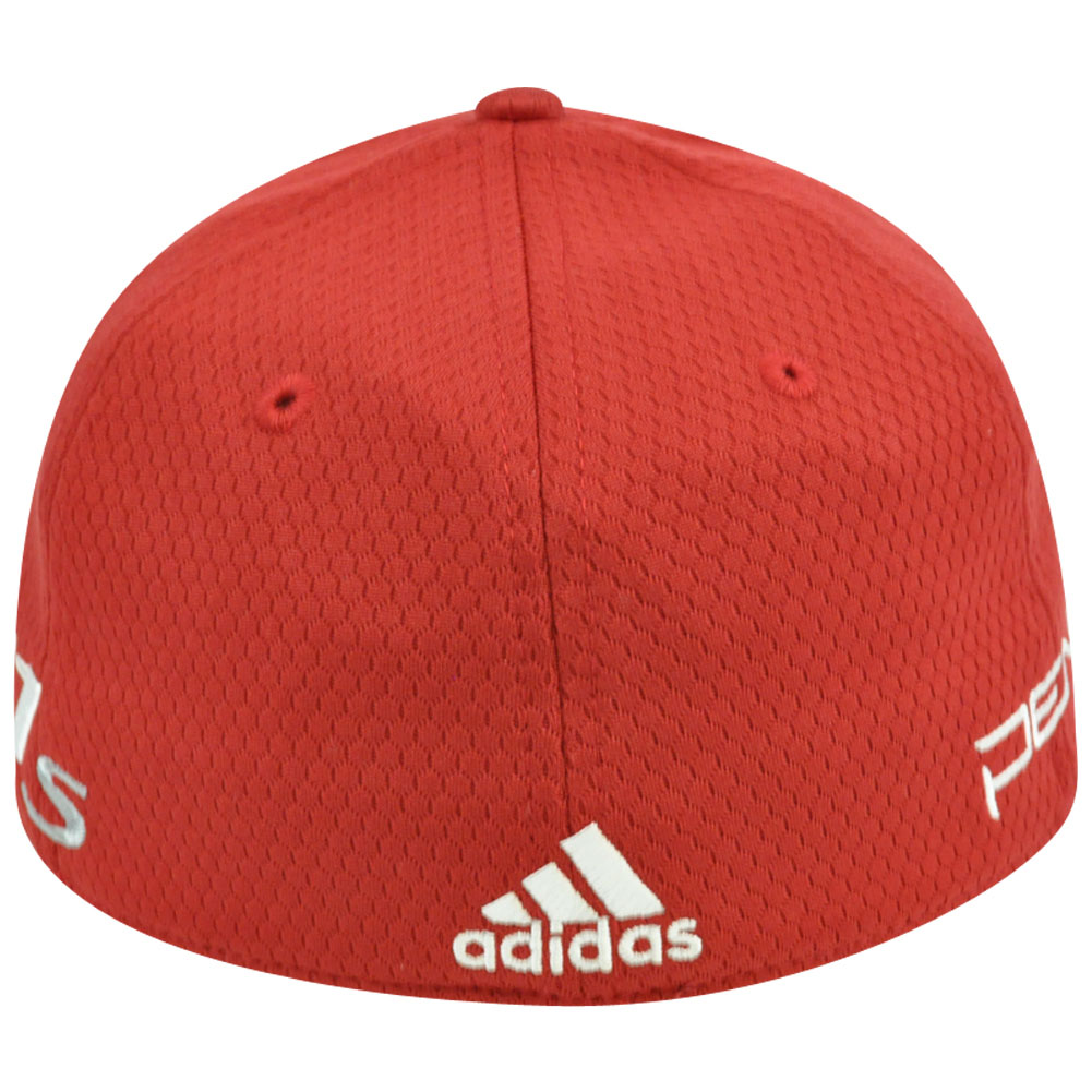 d146ff8d7a49d Adidas Ashworth Golf Hat Cap Penta Taylor Made R11 Red Stretch Flex Fit L Xl