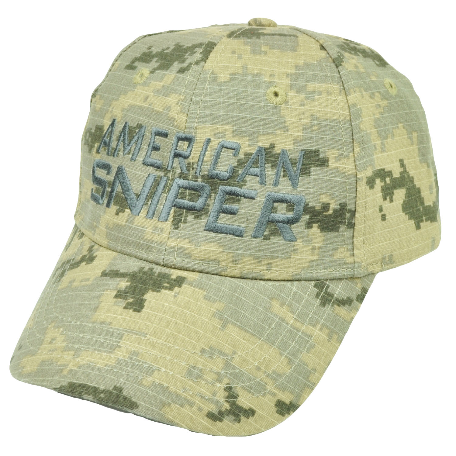 8f977af5d Details about American Sniper Digital Camouflage Camo Hat Cap Support Kyle  Navy Seal