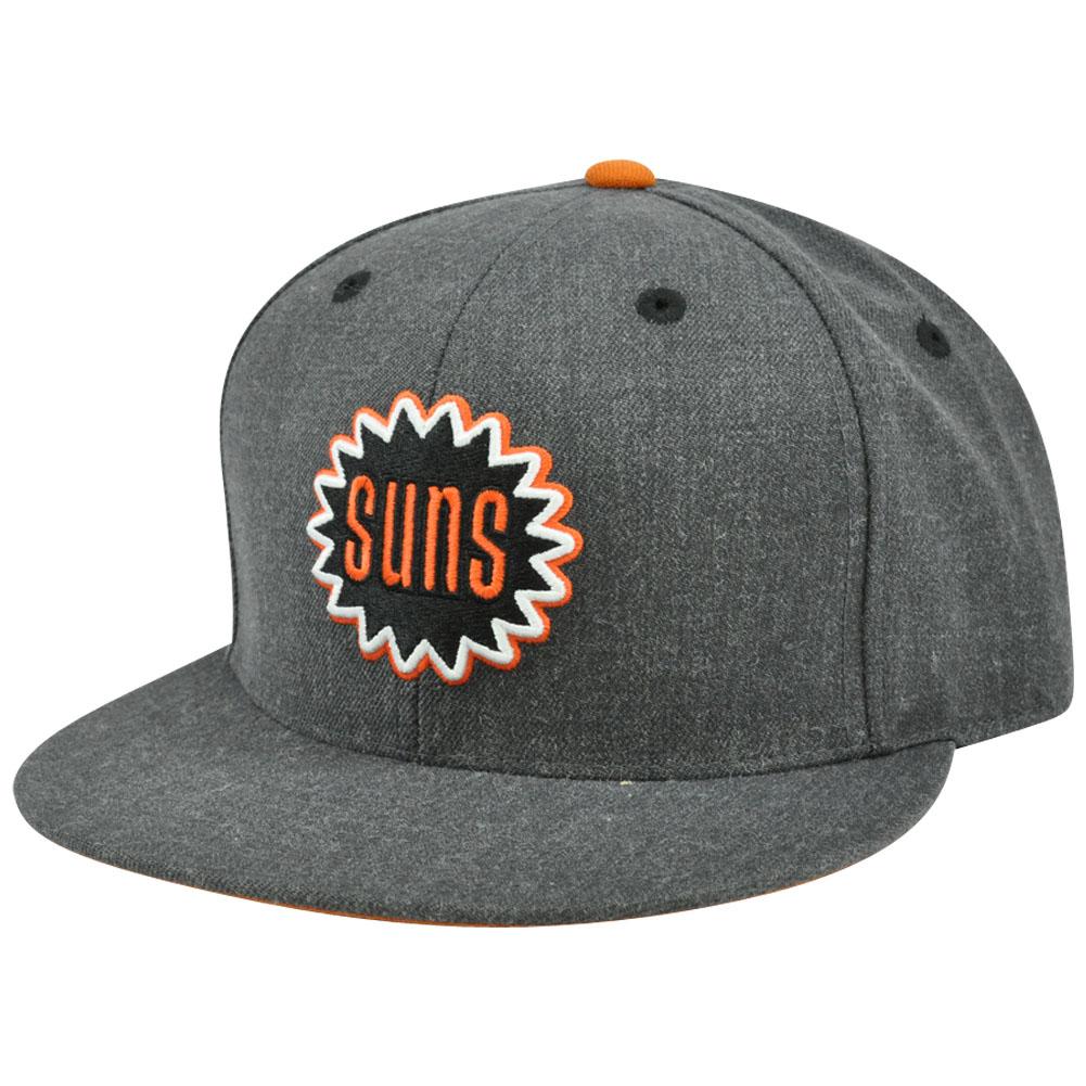 dd6ac2267fc931 NBA Mitchell & Ness TX59 Heather Wool Phoenix Suns Fitted Hat Cap | eBay