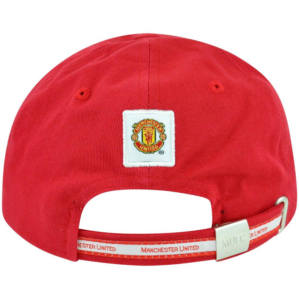 Red Devils Manchester United inglese Premier Soccer Futbol Hat Cap Clip  fibbia 059c6c2609ea
