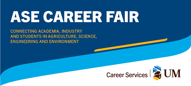 University of Manitoba ASE Virtual Career Fair Banner