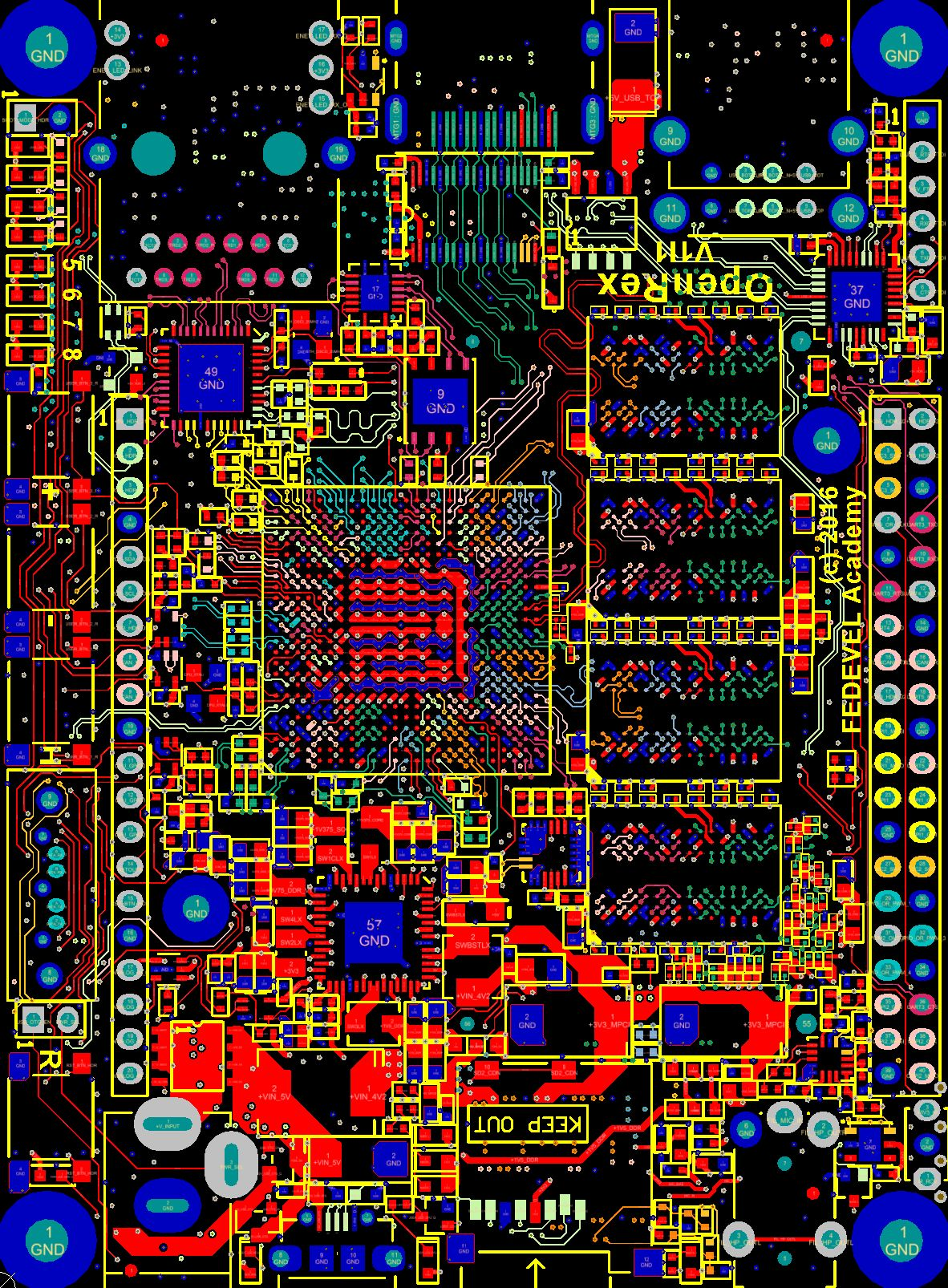 OpenRex | Projects | CircuitMaker