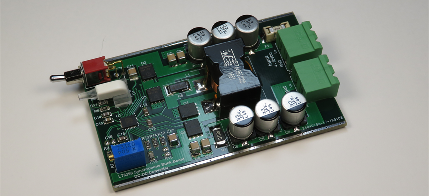 LT8390 Synchronous Buck-Boost DC-DC Converter | Projects | CircuitMaker