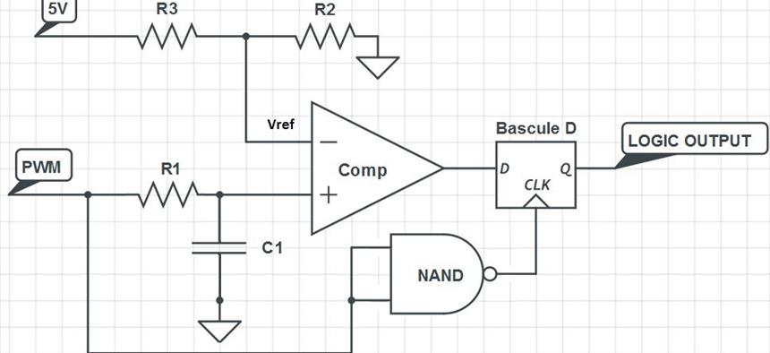 PWM to logic converter | Projects | CircuitMaker
