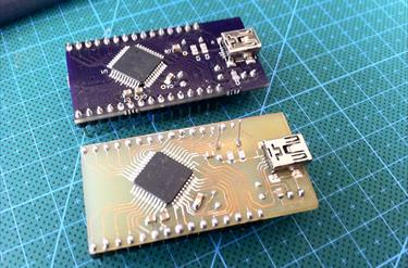 atmega32u4-breakout | Projects | CircuitMaker