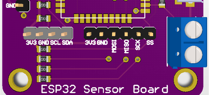 ESP32 Sensor Hub | Projects | CircuitMaker