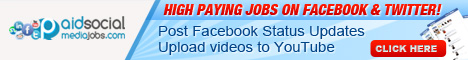 PaidSocialMediaJobs: High Paying Jobs On Facebook and Twitter