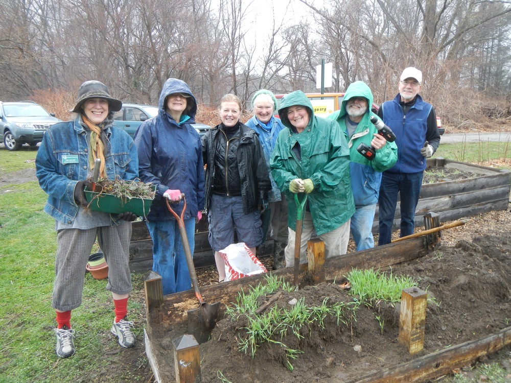Its Opening Day at the Northampton Community Garden. Nine Intrepid Master Gardens and Interns (from the Class of 2015) braved a raw day to ...