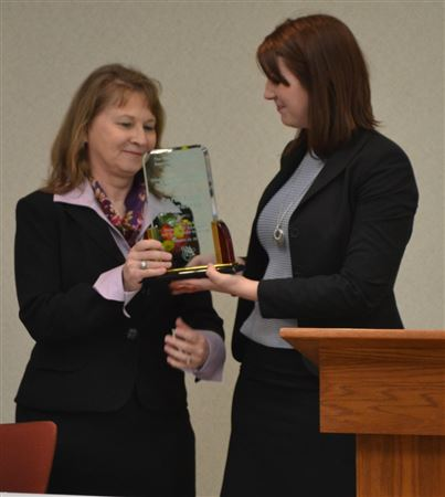 In 2006, the Women Attorney's Association of Topeka created the Chief Justice McFarland Award to honor her many accomplishments in the legal field. The award recognizes an individual who has achiev