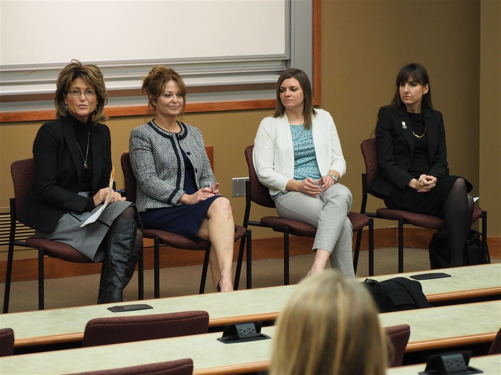 WAAT's November 2017 Luncheon Panel at Washburn Law with WWLF