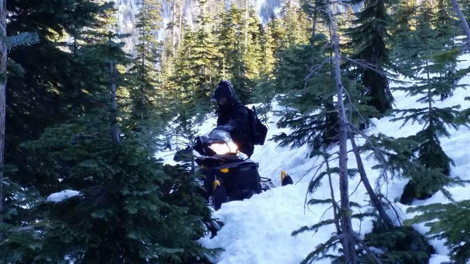 sled stuck