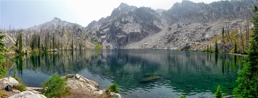 Backpacking trip to the Sawtooth Wilderness in Idaho, August 2018