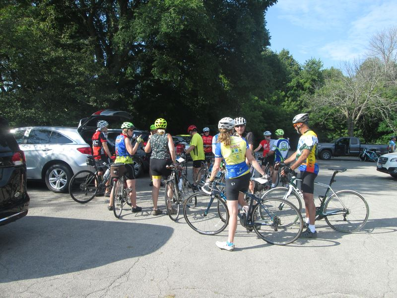 Photos from our ride to