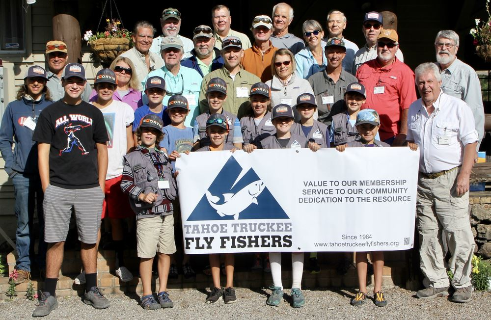 The 2019 Cliff Frazier Memorial Youth Fly Fishing Camp was a great success. Thirteen youth ages 10-14 participated and were supported by over 25 adult volunteers.