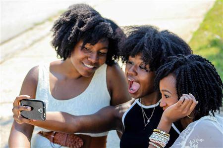 Young black teen vids