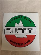 Sticker Round DOCQ Logo - click to view details