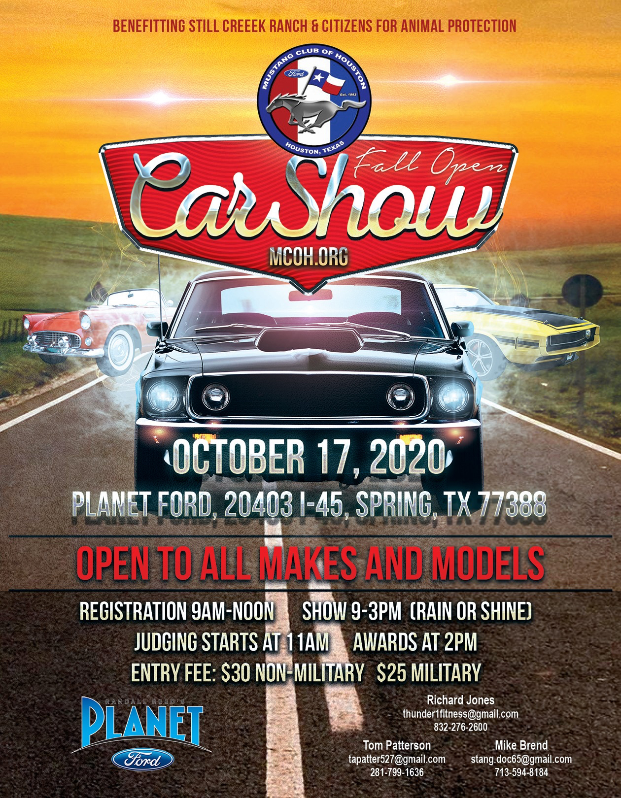 MCOH 2020 Fall Show - Planet Ford - October 17