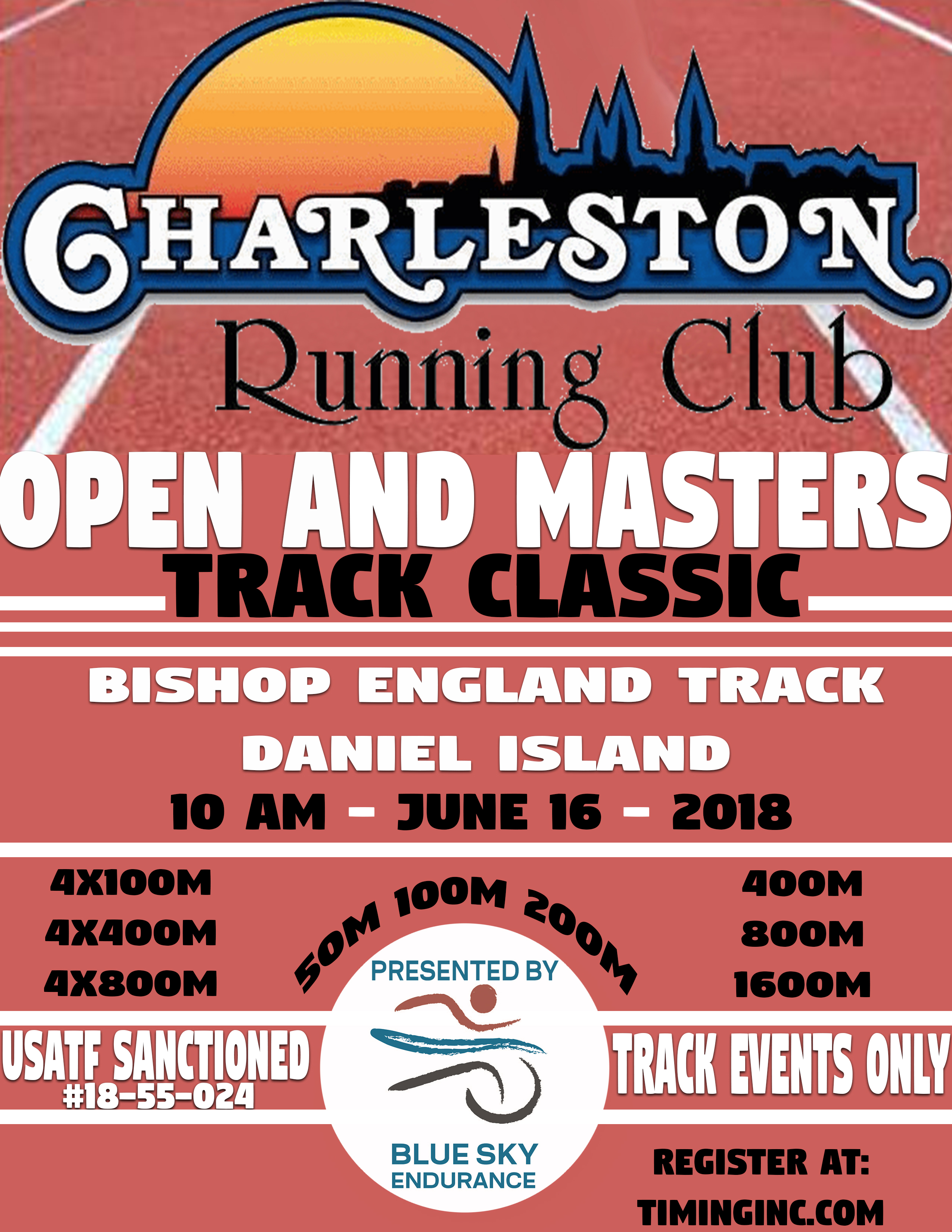 Home charleston running club for Classic house tracks